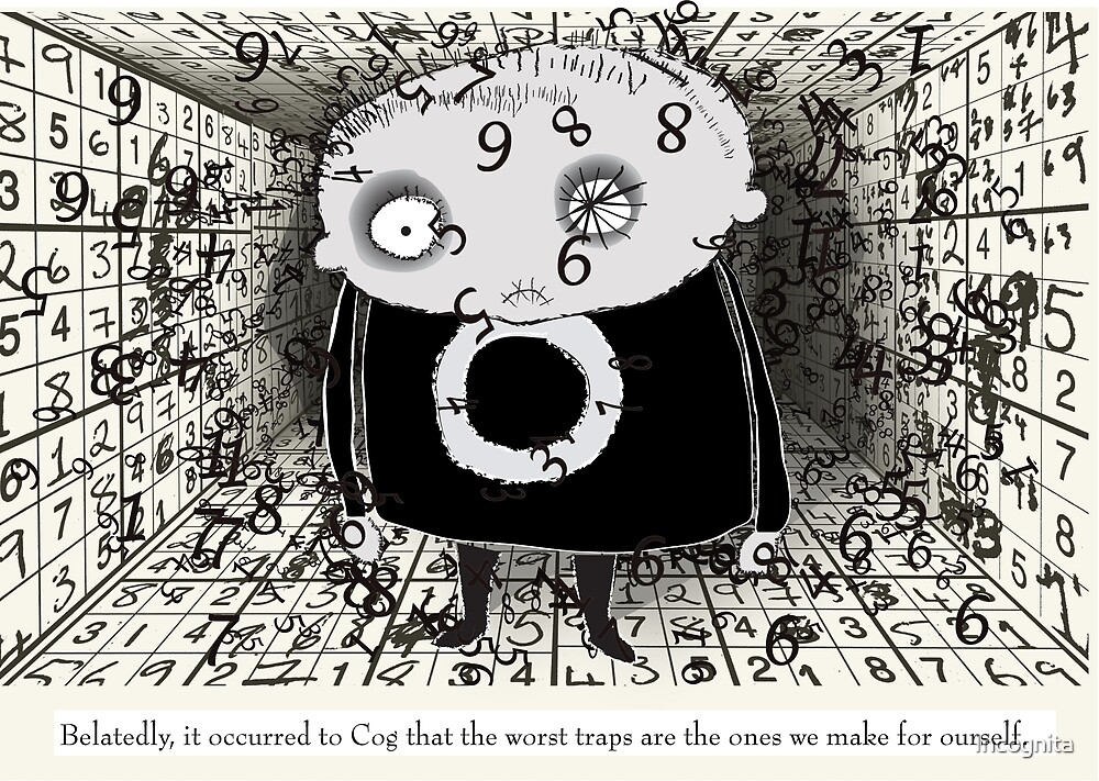 Eventually Cog realised that the numbers were against her... by Incognita