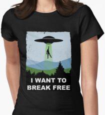 I Want to Break Free - Freddie Returns to Mercury Women's Fitted T-Shirt