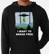 I Want to Break Free - Freddie Returns to Mercury Lightweight Hoodie