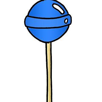 Blue Lollipop  by phronemophobe