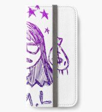 K.Flay FML skizzenhaft iPhone Flip-Case/Hülle/Skin