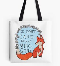 Feminist Fox Tote Bag