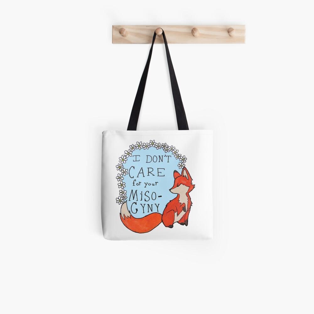 Feminist Fox Tote Bag