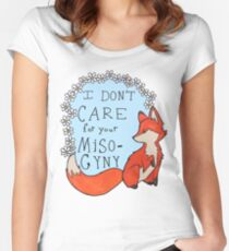 Feminist Fox Women's Fitted Scoop T-Shirt