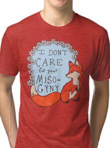 Feminist Fox Tri-blend T-Shirt