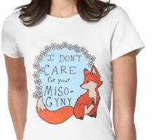 Feminist Fox Womens Fitted T-Shirt