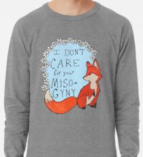 Feministischer Fuchs Leichter Pullover