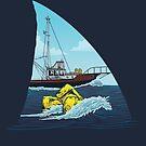 Kiefer: Der Orca von Diane LeonardArt