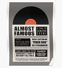 Almost Famous film poster Poster