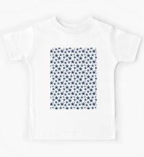 Blue stars on white background  Kids Clothes