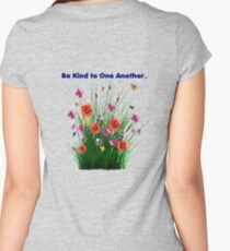 Be Kind to One Another Women's Fitted Scoop T-Shirt