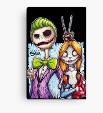 Nightmare In Gotham Canvas Print