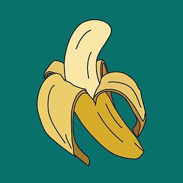 Peeled Banana by LaurArt