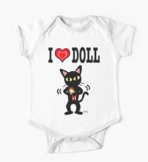 I love doll One Piece - Short Sleeve