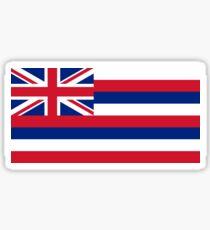 Hawaii Flag Sticker