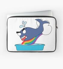 angry zombie whale vs kiddie pool Laptop Sleeve