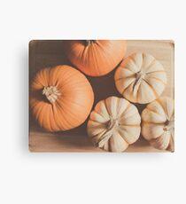 Pumpkins 4 Canvas Print
