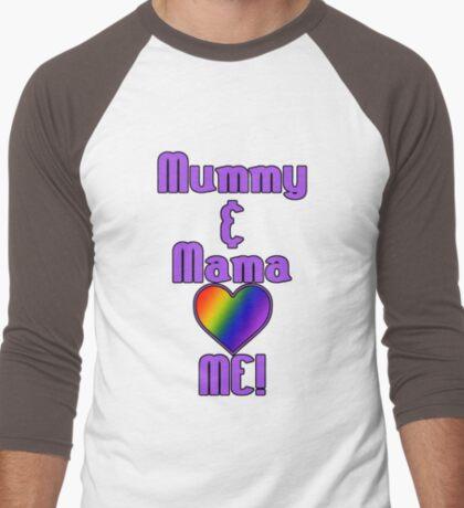Mummy & Mama Love Me | Lesbian Parenting T-Shirt
