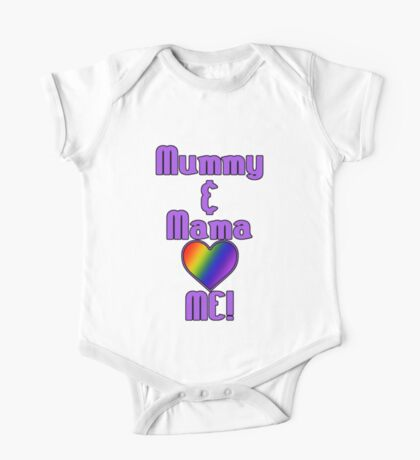 Mummy & Mama Love Me | Lesbian Parenting Kids Clothes
