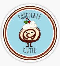 Baby Cakes - Chocolate Roulade Sticker