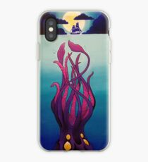 Troubled Waters by Moonlight iPhone Case
