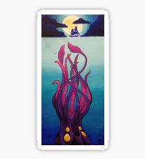 Troubled Waters by Moonlight Sticker