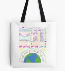 On Top Of The World (2) Tote Bag