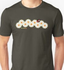 Lady Pug! (green accents) Unisex T-Shirt