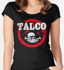 Ska Punk Talco Women's Fitted Scoop T-Shirt