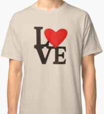 Love Heart Classic T-Shirt