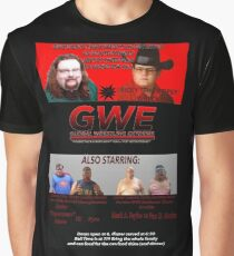 GWE Show Flyer Graphic T-Shirt