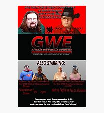 GWE Show Flyer Photographic Print
