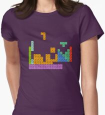 Periodic Tetrominoes Tailliertes T-Shirt