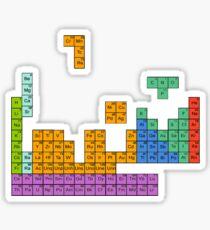 Periodic Tetrominoes Sticker