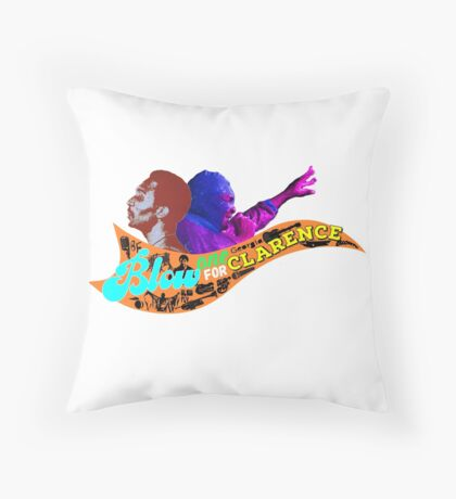 Blow One for Clarence - Pt 2 Throw Pillow