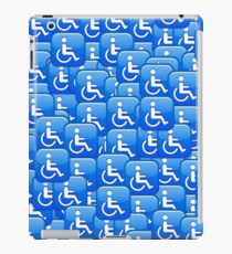 WHEEL CHAIR EMOJI iPad Case/Skin