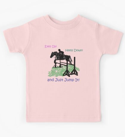 Eyes Up! Heels Down! & Just Jump It! Kids Clothes