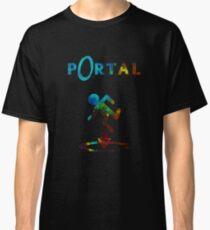 Portal Minimalist Nebula Design Classic T-Shirt