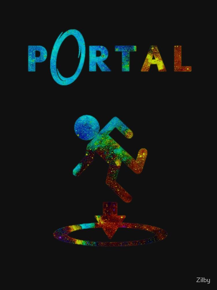 Portal Minimalist Nebula Design by Zilby