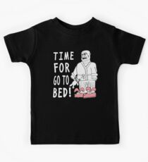 Time For Go To Bed Kids Tee