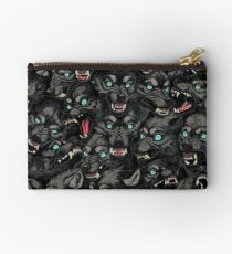 Wolf Pack Pattern Studio Pouch