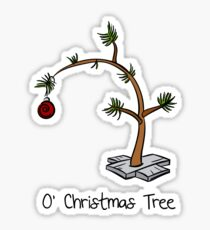 O Christmas Tree Sticker