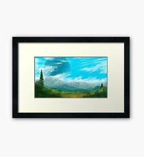 Verdant Plains Framed Print