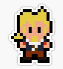 Pixel Guybrush Threepwood Sticker