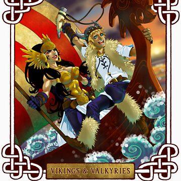 Nauticon 2014 - VIKINGS & VALKYRIES [with DATE & LOCATION] by Nauticon-Store