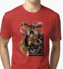 Steampunk wisdom Tri-blend T-Shirt