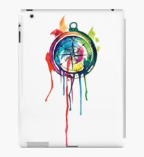 Water Colour Compass iPad Case/Skin