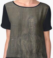 Alberto Giacometti - Portrait of Peter Watson Women's Chiffon Top