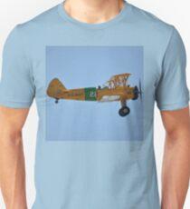 Boeing Kaydet, Tyabb Airshow, Victoria, Australia 2014 Unisex T-Shirt