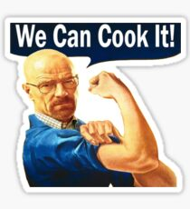 We Can Cook It!- Walter White Sticker